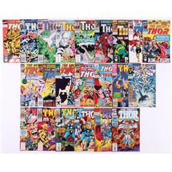 "Lot of (22) 1983-96 ""Thor"" #329-#479 Marvel Comic Books"
