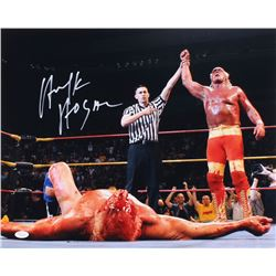 Hulk Hogan Signed WWE 16x20 Photo (JSA COA)