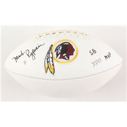 "Mark Rypien Signed Washington Redskins Logo Football Inscribed ""SB XXVI MVP"" (JSA COA)"