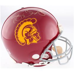 Reggie Bush Signed USC Trojans Full-Size Authentic On-Field Helmet (Mounted Memories Hologram)
