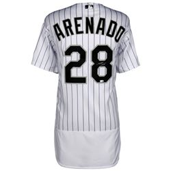 Nolan Arenado Signed Colorado Rockies Jersey (MLB Hologram  Fanatics Hologram)
