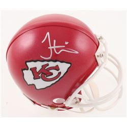 Tyreek Hill Signed Kansas City Chiefs Mini Helmet (JSA COA)