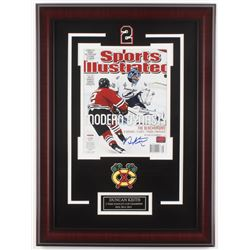 Duncan Keith Signed Chicago Blackhawks 17x23 Custom Framed Photo Display (Your Sports Memorabilia St