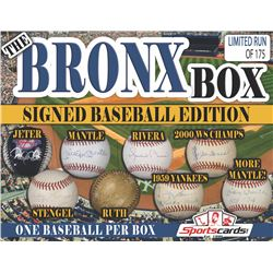 """THE BRONX MYSTERY BOX – SIGNED BASEBALL EDITION"" -BABE RUTH, MANTLE, JETER,  MORE"
