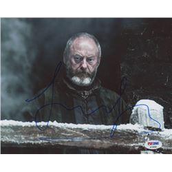 """Liam Cunningham Signed """"Game of Thrones"""" 8x10 Photo (PSA COA)"""
