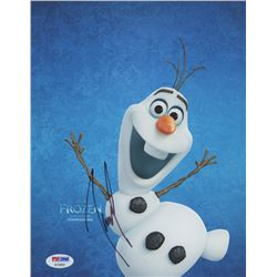 """Josh Gad Signed """"Frozen"""" 8x10 Photo (PSA COA)"""