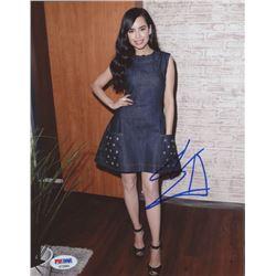 Sofia Carson Signed 8x10 Photo (PSA COA)