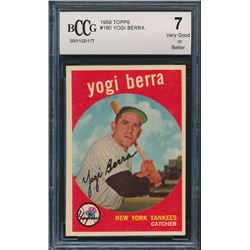 1959 Topps #180 Yogi Berra (BCCG 7)
