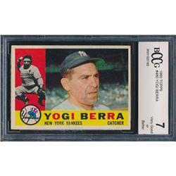 1960 Topps #480 Yogi Berra (BCCG 7)