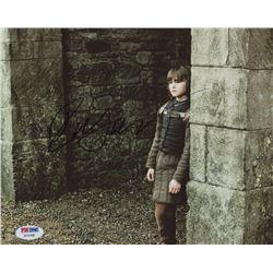 "Isaac Hempstead Wright Signed ""Game of Thrones"" 8x10 Photo (PSA COA)"