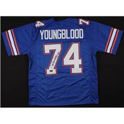 "Jack Youngblood Signed Jersey Inscribed ""CHF 1992"" (Radtke COA)"