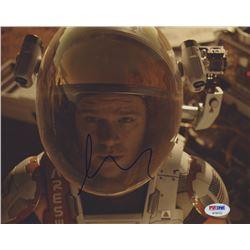 "Matt Damon Signed ""The Martian"" 8x10 Photo (PSA COA)"