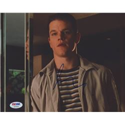 Matt Damon Signed 8x10 Photo (PSA COA)