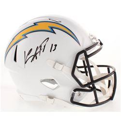 Keenan Allen Signed Los Angeles Chargers Full-Size Speed Helmet (Radtke COA)