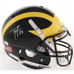 Ty Law Signed Michigan Wolverines Full-Size Authentic On-Field Helmet (Radtke COA)