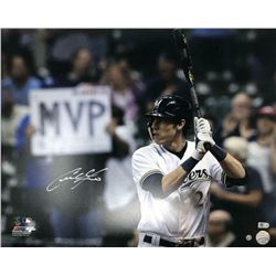 Christian Yelich Signed Milwaukee Brewers 16x20 Photo (Steiner Hologram)