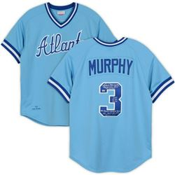 Dale Murphy Signed Atlanta Braves Jersey with Multiple Inscriptions (Fanatics Hologram)