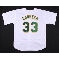 "Jose Canseco Signed Jersey Inscribed ""40/40"" (JSA COA)"