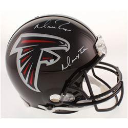 "Matt Ryan Signed Atlanta Falcons Full-Size Authentic On-Field Helmet Inscribed ""Matty Ice"" (Fanatics"