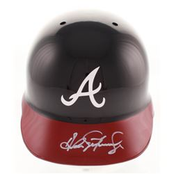 Andres Galarraga Signed Atlanta Braves Authentic Full-Size Batting Helmet (Radtke COA)