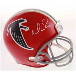 Matt Ryan Signed Atlanta Falcons Full-Size Authentic On-Field Throwback Helmet (Fanatics Hologram)