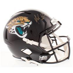 Mark Brunell Signed Jacksonville Jaguars Full-Size Speed Helmet (Radtke COA)