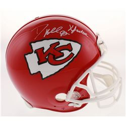 """Dante Hall Signed Kansas City Chiefs Full-Size Authentic On-Field Helmet inscribed """"X Factor"""" (Radtk"""