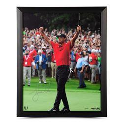 Tiger Woods Signed 16x20 Custom Framed Limited Edition Photo (UDA COA)