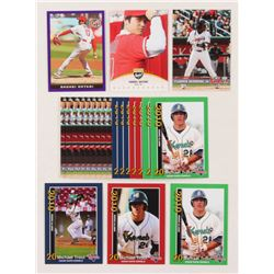 Lot of (22) Baseball Rookie Cards with Mike Trout, Shohei Ohtani  Vladimir Guerrero Jr.