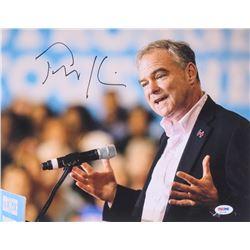Tim Kaine Signed 11x14 Photo (PSA COA)