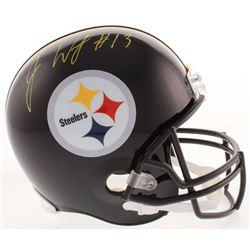 James Washington Signed Pittsburgh Steelers Full-Size Helmet (JSA COA)
