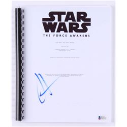 "J.J. Abrams Signed ""Star Wars: The Force Awakens"" Movie Script (Beckett COA)"