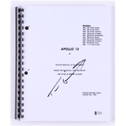"Tom Hanks Signed ""Apollo 13"" Movie Script (Beckett COA)"