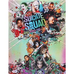 "David Ayer Signed ""Suicide Squad"" 11x14 Photo (PSA COA)"