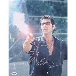 "Jeff Goldblum Signed ""The Lost World: Jurassic Park"" 8x10 Photo (PSA COA)"