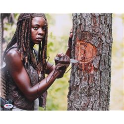 "Danai Gurira Signed ""The Walking Dead"" 11x14 Photo (PSA COA)"