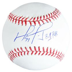 "David Ortiz Signed Baseball Inscribed ""Big Papi"" (Fanatics Hologram)"