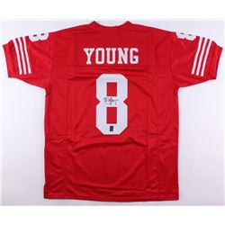 Steve Young Signed Jersey (JSA COA  Young Hologram)