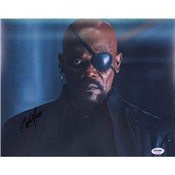 "Samuel L. Jackson Signed ""Spider-Man: Far From Home"" 11x14 Photo (PSA COA)"