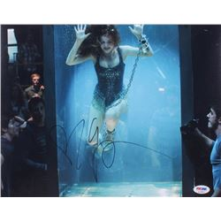 "Isla Fisher Signed ""Now You See Me"" 11x14 Photo  (PSA COA)"