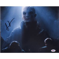 "Andy Serkis Signed ""Star Wars: The Last Jedi"" 11x14 Photo (PSA COA)"