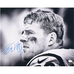J.J. Watt Signed Houston Texans 16x20 Photo (JSA COA  Watt Hologram)