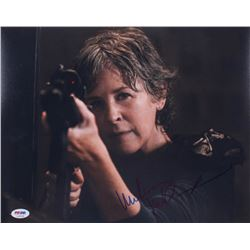 "Melissa McBride Signed ""The Walking Dead"" 11x14 Photo (PSA COA)"