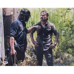 "Norman Reedus  Andrew Lincoln Signed ""The Walking Dead"" 11x14 Photo (PSA COA)"