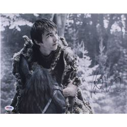 "Isaac Hempstead Wright Signed ""Game of Thrones"" 11x14 Photo (PSA COA)"