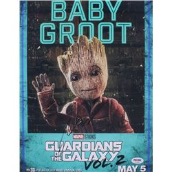 "Vin Diesel Signed ""Guardians of the Galaxy Vol. 2"" 11x14 Photo (PSA COA)"