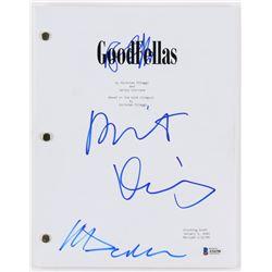 "Ray Liotta, Robert Deniro  Martin Scorsese Signed ""Goodfellas"" Movie Script (Beckett LOA)"