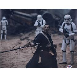 """Donnie Yen Signed """"Rogue One: A Star Wars Story"""" 11x14 Photo (PSA COA)"""
