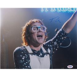 "Taron Egerton Signed ""Rocketman"" 11x14 Photo (PSA COA)"