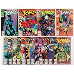 """Lot of (16) 1988-1989 """"The Uncanny X-Men"""" 1st Series Marvel Comic Books from #230-250"""